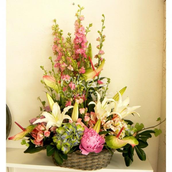 Σύνθεση λουλουδιών ΆΝΘΗ και ΦΥΤΆ