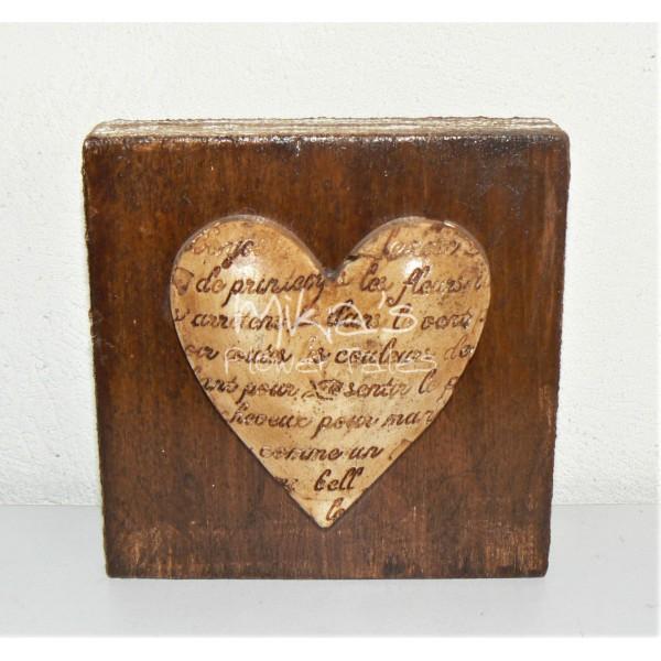 Κεραμική καρδιά σε ξύλινη βάση ΧΕΙΡΟΠΟΙΗΤΕΣ ΔΙΑΚΟΣΜΗΤΙΚΕΣ ΚΑΡΔΙΕΣ ΓΙΑ ΕΡΩΤΕΥΜΕΝΟΥΣ ΚΑΙ ΟΧΙ ΜΟΝΟ!!!