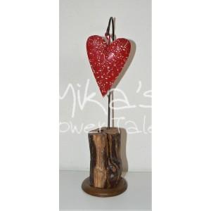 """Κρεμαστή κεραμική καρδιά """"λουλούδια""""  ΧΕΙΡΟΠΟΙΗΤΕΣ ΔΙΑΚΟΣΜΗΤΙΚΕΣ ΚΑΡΔΙΕΣ ΓΙΑ ΕΡΩΤΕΥΜΕΝΟΥΣ ΚΑΙ ΟΧΙ ΜΟΝΟ!!!"""