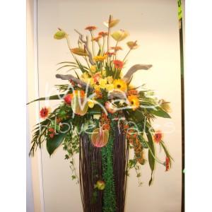 Σύνθεση λουλουδιών ΛΟΥΛΟΥΔΙΩΝ